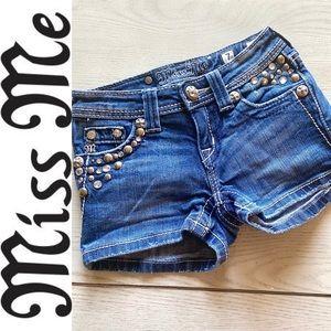 Girls Miss me jean shorts